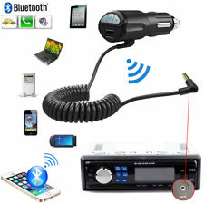 A2DP 3.5mm Car Handsfree Bluetooth AUX Stereo Audio Receiver Adapter Charger