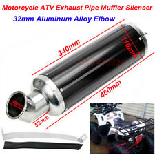 Motorcycle ATV Exhaust Pipe Mufflers Silencers Slip On Universal F Pit Dirt Bike