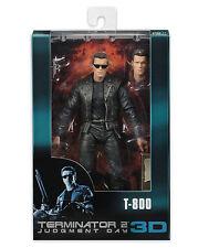 "Terminator 2 25th Anniversary 3D Release T-800 7"" Scale Action Figure NECA T2"