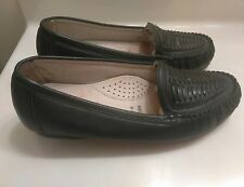 THE BODY SHOES BY HUSH PUPPIES WOMENS COMFORT CURVE LEATHER WALKING SHOES Sz 9.5