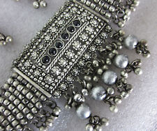 Statement Necklace Choker Earrings Boho Gypsy Hippie Kuchi Style Fashion Jewelry