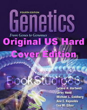 NEW Original H/C Edition 3 Day US Genetics From Genes to Genomes 4E Hartwell 4th