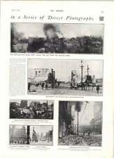 1906 San Francisco Disaster Photos Queen Mary House Fleet Street