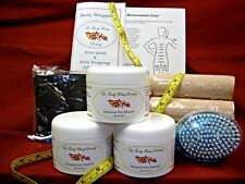 European Dry Mineral Body Wrap Kit - Lose Inches - Complete at Home Spa Kit