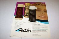 Vintage 1970s ALADDIN FASHION THERMOS - ad sheet #0134