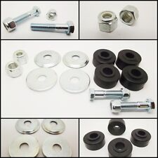 Classic Mini Competition Tie Bar Fitting Kit INC H/D Bushes Nuts, Bolts & Washer