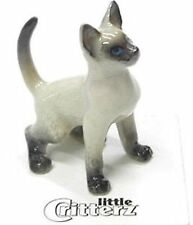 "LC906 - Little Critterz  - Siamese Kitten named ""Blaze"" (Buy 5 get 6th free!)"