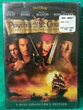 Pirates Of The Caribbean The Curse Of The Black Pearl 2003 DVD (a6)