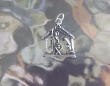 CATHOLIC CHURCH CHRISTMAS 2 HIS & HERS NATIVITY SCENE PEWTER CHARMS ALL NEW.