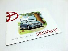 2003 Toyota Sienna Brochure