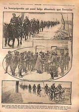 Casque Adrian Bourguignotte Poilus Cavalerie Armée Belgique & France WWI 1916