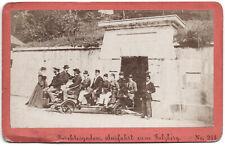 Berchtesgaden. Baldi & Würthle. Orig.-CdV-Photo um 1880