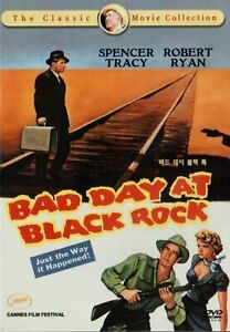Bad Day At Black Rock - Spencer Tracy, Robert Ryan UK Compatible Region Free DVD