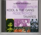 (HH866) The Heart & Soul of Gloria Gaynor/Kool & The Gang/Tavares - 1997 CD