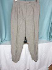 Harve Bernard Pants Slacks Size 4 Brown Herringbone LIned All Wool NWT