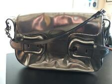 FENDI authentic B bag, silver mirror, medium
