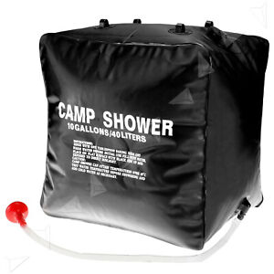 10 Gallons Camping & Hiking Bath Shower Outdoor Portable Camping Hiking 40L