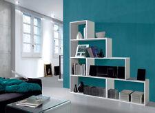 Estantería o librería para salón, despacho, oficina o dormitorio blanco brillo