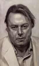 Christopher Hitchens ART PRINT from original oil painting 13x19in