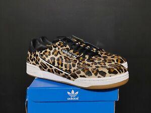 Adidas Originals Continental 80 Leopard Black White Gum Mens Shoes F33994 Sz 8.5