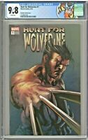 Hunt For Wolverine #1 CGC 9.8 Mike Deodato Variant Cover Edition 2018 Label