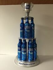 """Bud Light Trophy Spinning # 1 BL Fan Floating MUST SEE ~ NEW In Box ~ 29"""" Tall"""