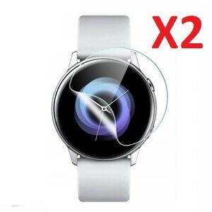 2 X For Samsung Galaxy Watch Active Screen Protector Ultra Clear