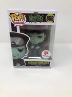 Funko Pop! Television Herman Munster 868 Walgreens Exclusive The Munsters