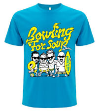 Bowling For Soup 'Beach Boys' (Blue) T-Shirt - NEW & OFFICIAL!