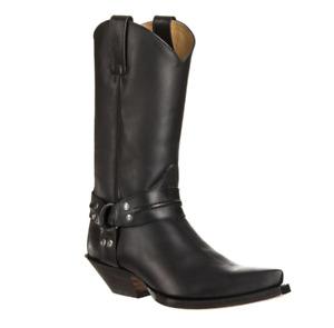 3305 SENDRA Boots Cuervo Jumper Oil Negro Woman/Man