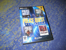 POLICE QUEST COLLECTION 4 GAMES PC die Klassiker