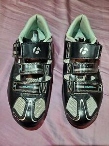 NEW BONTRAGER Inform Solstice Black Bike Bicycle Cycling Race Shoes 8.5 Women's