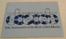 50th Anniversary of the Birth of Bob Marley Stamp Album (Jamaica)