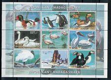 1999 - MADAGASKAR - UCCELLI - FOGLIETTO - MNH