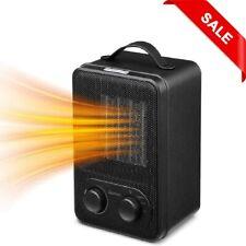 Mini Fan Heater, 950W PTC Ceramic Electric Heater, Portable Heater SANCUSTO
