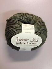 Debbie Bliss Cashmerino Aran #300045 Basil Green 50g