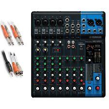 Yamaha MG10XU 10-Channel Compact Stereo Mixer and USB Audio Interface BONUS PAK