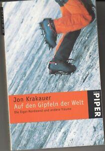 Jon Krakauer  Auf den Gipfeln der Welt