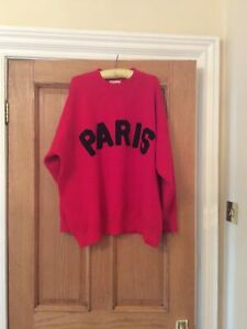 Moocci Red Sweater Size S Ladies