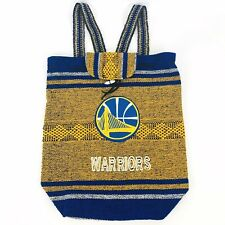 Golden State Warriors Authentic Mexican Handmade Woven Bag Backpack