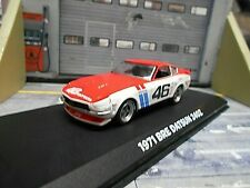 DATSUN Nissan 240Z 240 Z Fairlady 1971 #46 Morton BRE Touringcar Greenlight 1:43