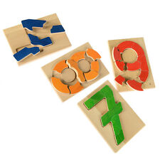Number Puzzles • Mathematical Educational Aid • Ecological Wooden PILCH Toy