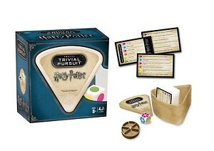 WORLD OF HARRY POTTER TRIVIAL PURSUIT BITE SIZE GAME - OVER 600 QUESTIONS