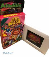 BIG NOSE FREAKS OUT Aladdin Deck Enhancer Game Nintendo NES CIB VTG Authentic
