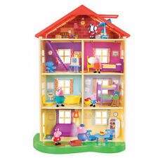 Peppa Pig Lights sonidos Family House Big 13 Accesorios 3 Figuras Nuevo Home
