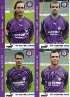 Erzgebirge Aue - 14 Autogrammkarten Saison 2003/04 mit Originalunterschrift!