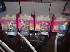 Alice In Wonderland set of 4 Disney Porcelains Phb original box Mint