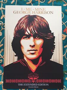 George Harrison I Me Mine Extended GENESIS PUBLICATIONS A4 Promo Brochure