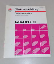 Werkstatthandbuch Mitsubishi Galant E 30 Nachtrag Elektrik Schaltpläne ab 1989