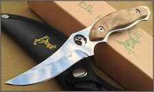 "7"" OVERALL ELK RIDGE HUNTING/SKINNING KNIFE FULL TANG WITH NYLON SHEATH 440"